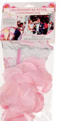 Лепестки роз с кульком, нежно-розовые 15 г