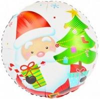 Фольгированный шар Дед Мороз 18''