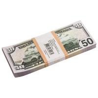 Сувенирные деньги Пачка купюр 50 $