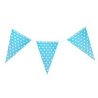 """Гирлянда """"Горошек"""", 230 см, цвет синий"""