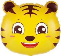 Шар (19''/48 см) Фигура, Голова, Маленький Тигр