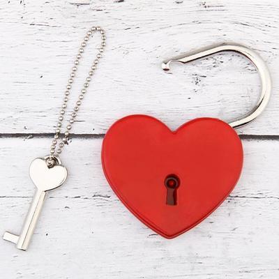 """Замок с ключом """"Ты. Я. Вместе навсегда"""""""