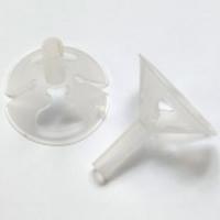 Держатель (зажим) для воздушных Шаров диаметр 5 мм Белый