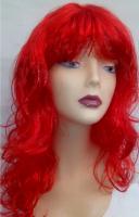 Карнавальный парик красный