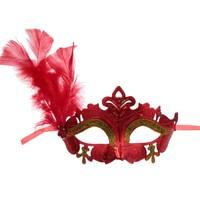 Карнавальная маска «Нежность», с пером, цвета МИКС