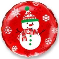 Фольгированный шар Снеговик 18''