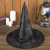 Карнавальная шляпа «Лохмотья», р-р. 56-58 см, цвет чёрный