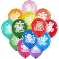Воздушные шарики Зверята с днем рождения
