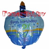"""Шар торт """"Первый день рождения"""""""