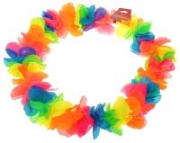 """Гавайское ожерелье """"Лепестки ириса"""", разноцветные"""
