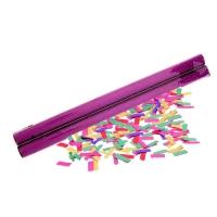 Палочка конфетти (набор 2 шт) красный блеск конфетти- бумага