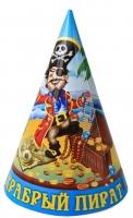 """Колпак """"Пират"""", набор 6 шт"""