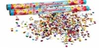 "Палочка конфетти ""Круг"" (набор 2 шт) конфетти- бумага 35 см"