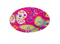 """Бумажные тарелки """"Бабочки"""", 7 дюймов, 6 шт"""