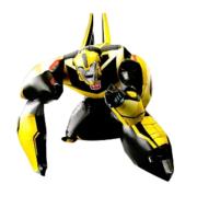 Ходячая фигура Трансформер БамблБи 91см Х 111см