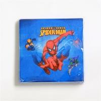 """Бумажные салфетки """"Человек-паук"""", 20 шт"""