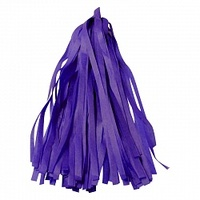 Гирлянда Тассел, Фиолетовая 2 м, 10 листов