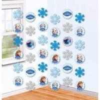 Декоративная подвеска, Холодное Сердце, 2 м, 6 шт