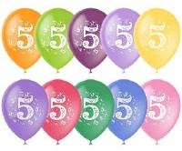 Воздушный шар цифра 5 (Пять)