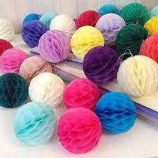 Бумажные шары соты салатовый цвет 20 см