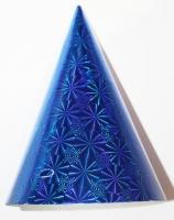 Колпак БОЛЬШОЙ голография синий