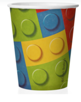 """Бумажные стаканы """"Лего"""", 250 мл, 6шт"""