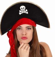 Пиратская шляпа, карнавальная