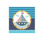 "Салфетки ""Морские приключения"", 10 штук"