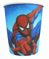 """Бумажные стаканчики """"Человек-паук"""" 250 мл, 10 шт"""