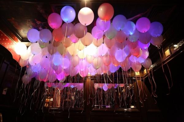 Светящиеся воздушные шарики, цвета МИКС