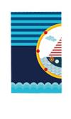 """Скатерть """"Морские приключения"""", 132х220см"""