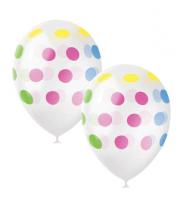 """Воздушный шар """"Горошек разноцветный"""""""