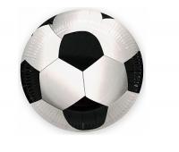 """Бумажные тарелки """"Футбольный мяч"""", 9 дюймов, 6 шт"""