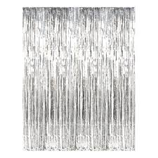 Занавес Дождик, цвет Серебро 1м х 2м