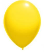 """Воздушный шар жёлтый 12"""""""