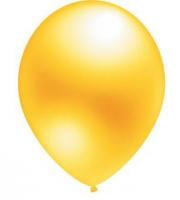 """Воздушный шар золотой 12"""" (Металлик)"""