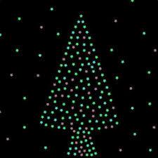Люминесцентные световые звезды, цвет голубой, 100 шт